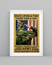 THE GIRL JOINED THE US ARMY  11x17 Poster lifestyle-poster-5