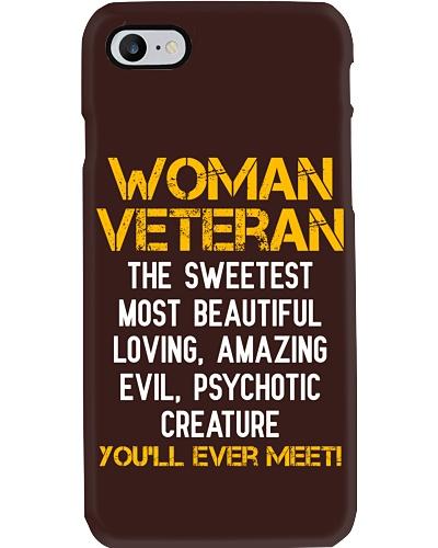 WOMAN VETERAN YOU'LL EVER MEET