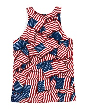 THE COOL VETERANS  All-over Unisex Tank back