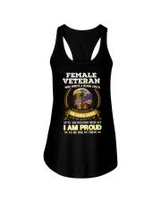 FEMALE VETERAN EDITION FRONTSIDE Ladies Flowy Tank thumbnail