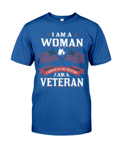 I AM A WOMAN WHO SERVED IN THE MILITARY