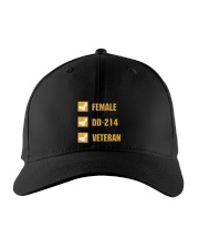 FEMALE VETERAN EDITION Embroidered Hat thumbnail