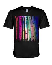 VETERAN RETRO V-Neck T-Shirt thumbnail