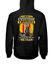 VIETNAM VETERAN EDITION Hooded Sweatshirt back