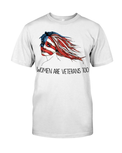 WOMEN ARE VETERANS TOO