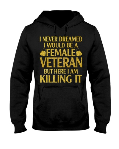 PROUD FEMALE VETERAN