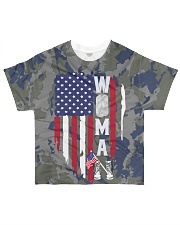 SHE SERVED FOR THIS COUNTRY All-over T-Shirt front