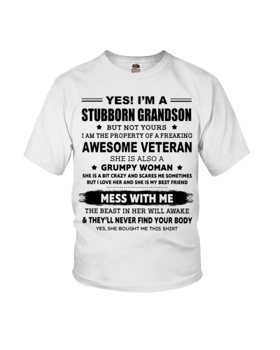 GRANDSON OF A FREAKING AWESOME VETERAN