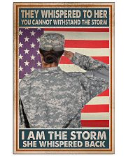 SHE IS THE STORM 11x17 Poster front