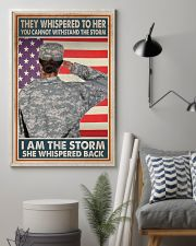 SHE IS THE STORM 11x17 Poster lifestyle-poster-1