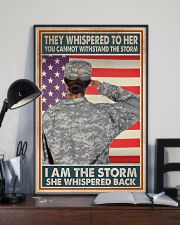 SHE IS THE STORM 11x17 Poster lifestyle-poster-2