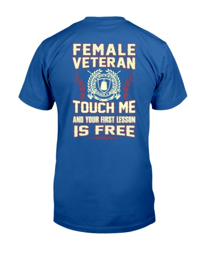 FEMALE VETERAN BACK SIDE