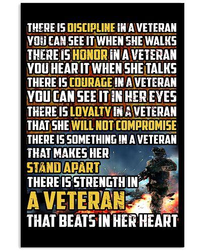 THE STRENGTH IN THE VETERAN'S HEART