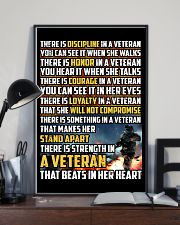 THE STRENGTH IN THE VETERAN'S HEART 16x24 Poster lifestyle-poster-2