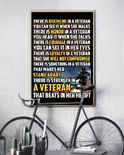 THE STRENGTH IN THE VETERAN'S HEART 16x24 Poster lifestyle-poster-7