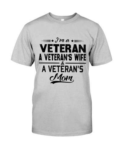 VETERAN VET'S WIFE MOM