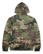 PROUD TO HAVE SERVED Men's All Over Print Full Zip Hoodie back