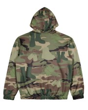 PROUD TO HAVE SERVED Women's All Over Print Hoodie back