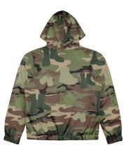 PROUD TO HAVE SERVED Women's All Over Print Full Zip Hoodie back
