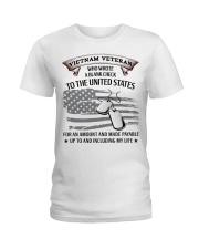 PROUD VIETNAM VETERAN Ladies T-Shirt thumbnail