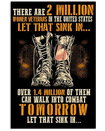 2 MILLION WOMEN VETERANS IN THE US