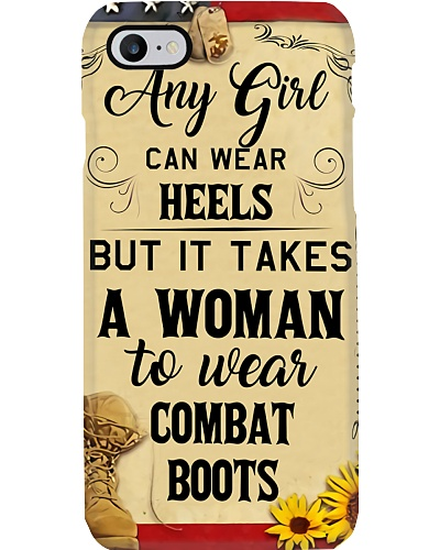IT TAKES A WOMAN TO WEAR COMBAT BOOTS