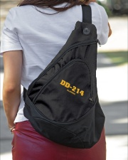 DD-214 ALUMNA Sling Pack garment-embroidery-slingpack-lifestyle-01