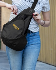 DD-214 ALUMNA Sling Pack garment-embroidery-slingpack-lifestyle-02