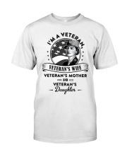 VET VET'S WIFE DAUGHTER MOTHER Classic T-Shirt tile