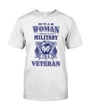 I AM A VETERAN Classic T-Shirt thumbnail