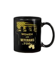 WOMEN ARE VETERANS TOO Mug thumbnail