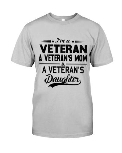 VETERAN VET'S MOM DAUGHTER