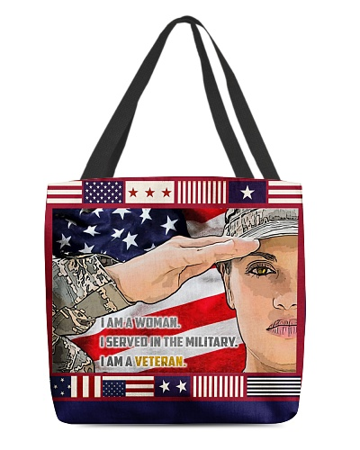I AM WOMAN WHO SERVED IN THE MILITARY