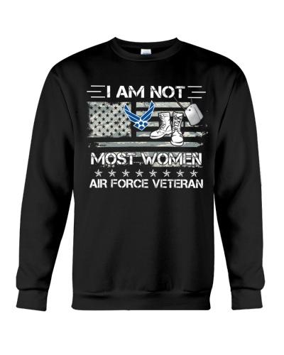 I AM NOT MOST WOMEN AIR FORCE VETERAN