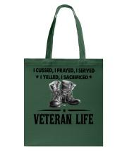 VETERAN LIFE Tote Bag thumbnail