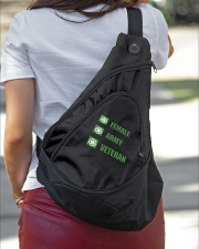 ARMY VETERAN  Sling Pack garment-embroidery-slingpack-lifestyle-01