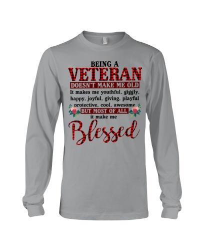 BEING A VETERAN MAKE ME BLESSED