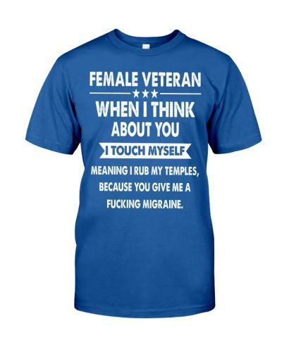 FUNNY EDITION FOR FEMALE VETERAN