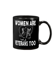 WOMEN ARE VETERAN TOO Mug thumbnail