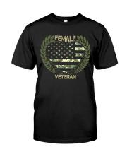 LOVE VETERAN  Classic T-Shirt front