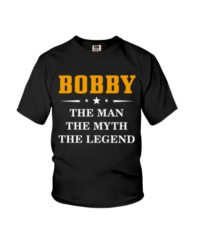 BOBBY THE MAN THE MYTH THE LEGEND NEW TSHIRT TZT