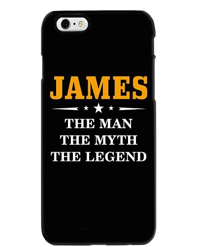 JAMES THE MAN THE MYTH THE LEGEND NEW TSHIRT TZT