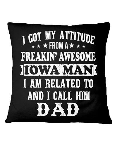 got my attitude from Iowa man