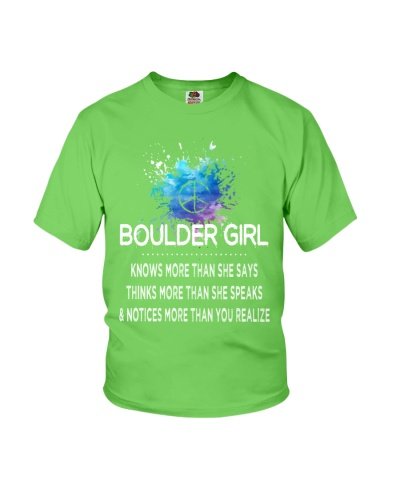 Boulder girl knows more than