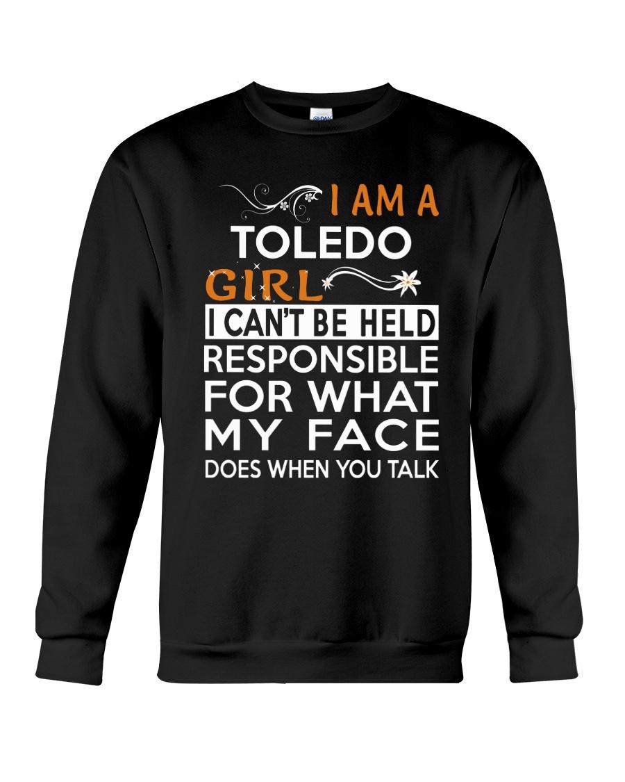 Toledo girl  i cant be held for Crewneck Sweatshirt