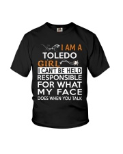 Toledo girl  i cant be held for Youth T-Shirt thumbnail