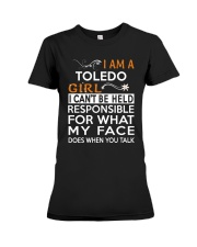 Toledo girl  i cant be held for Premium Fit Ladies Tee thumbnail