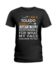 Toledo girl  i cant be held for Ladies T-Shirt thumbnail