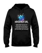 Henderson girl knows more than Hooded Sweatshirt thumbnail