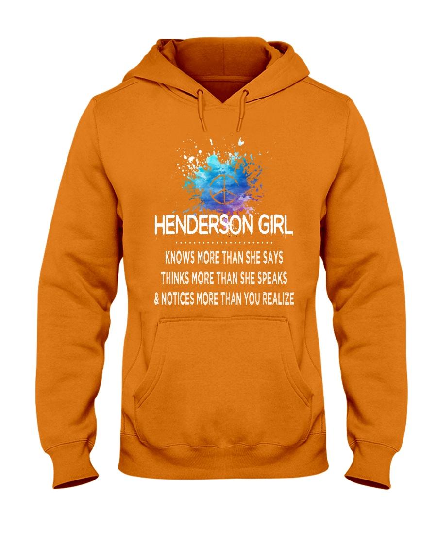 Henderson girl knows more than Hooded Sweatshirt